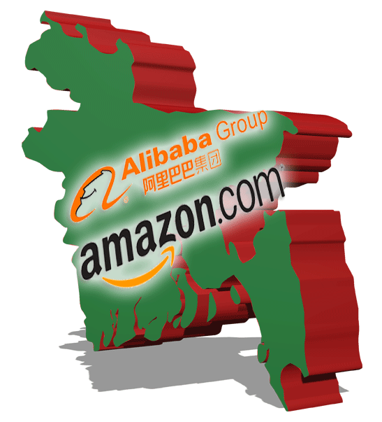 Alibaba and Amazon to build network in Bangladesh